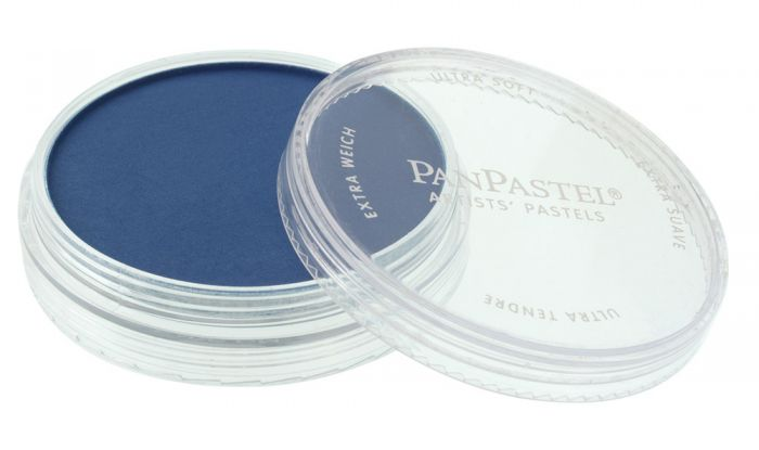Phthalo Blue Shade Side View Pans