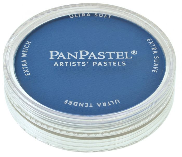Phthalo Blue Closed View Pans