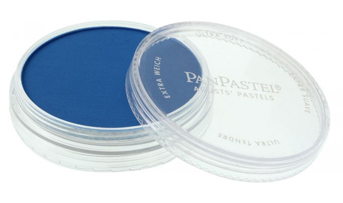 Phthalo Blue Side View Pans