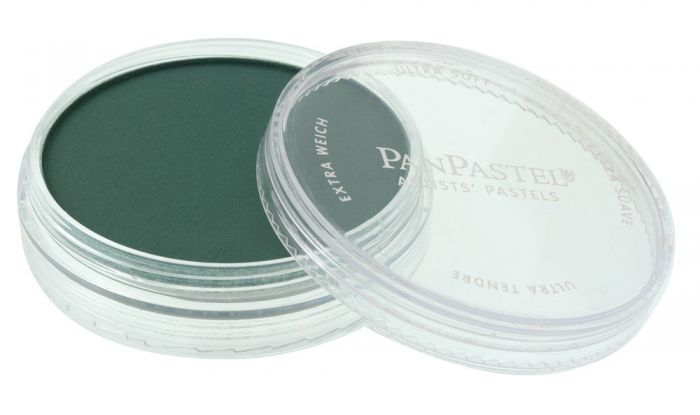 Phthalo Green Extra Dark Side View Pans