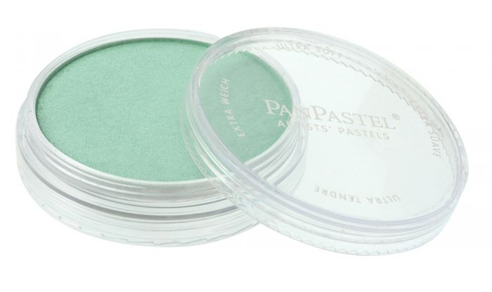 Pearlescent Green Side View Pans
