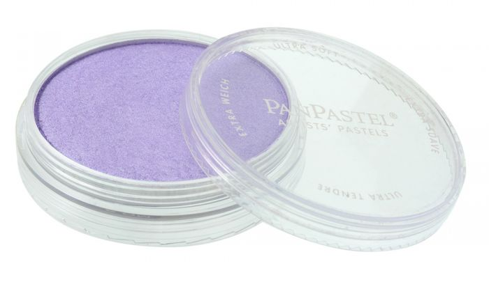 Pearlescent Violet Side View Pans