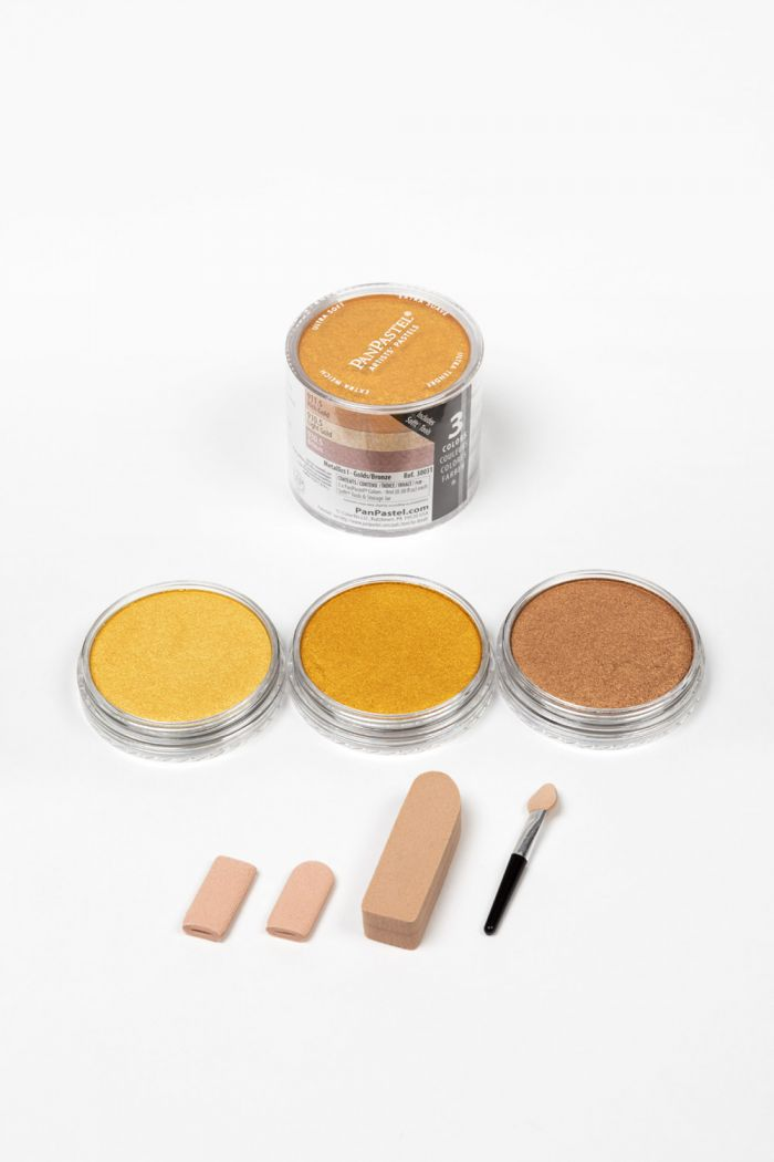 Metallics I -  Lt. Gold/Rich Gold/Bronze (3 Color Set)