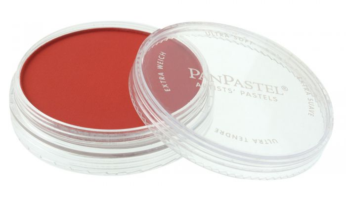 Permanent Red Shade Side View Pans