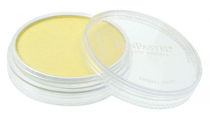 Pearlescent Yellow Side View Pans
