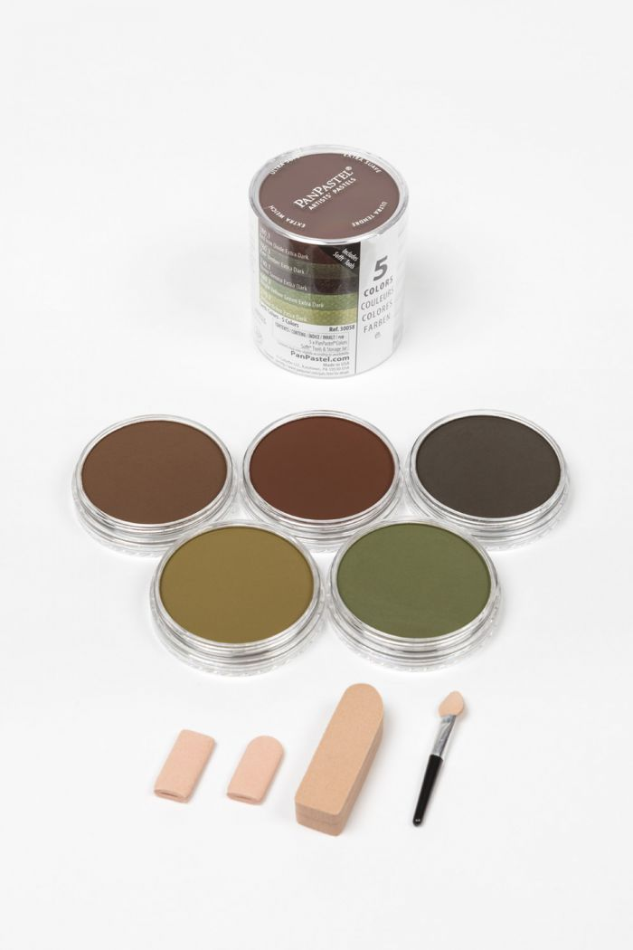 Extra Dark Shades - Earth Colors (5 Color)