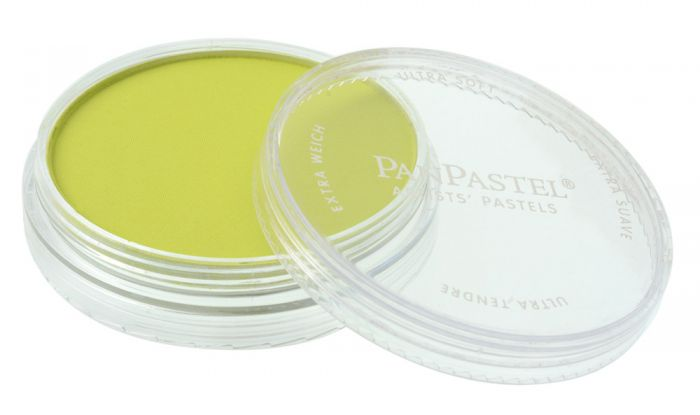 Bright Yellow Green Side View Pans