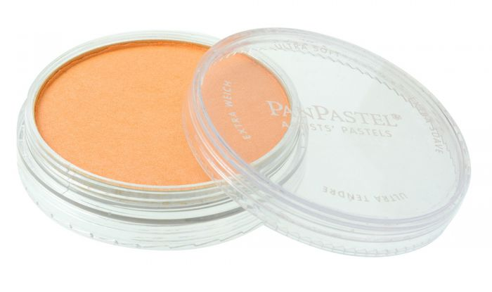 Pearlescent Orange Side View Pans