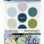 Susan's Garden Flower Coloring Kit No. 2 (7 Colors)