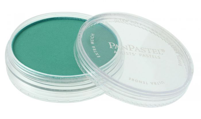 Phthalo Green Side View Pans