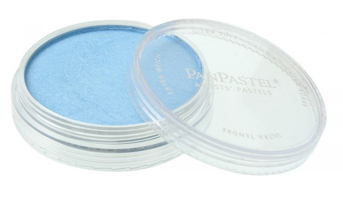 Pearlescent Blue Side View Pans