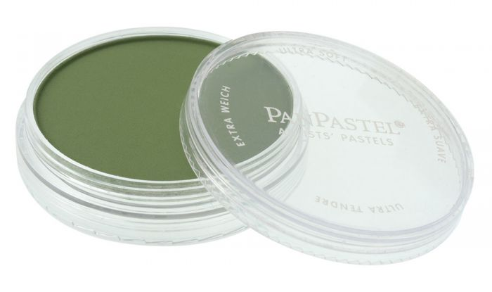 Chromium Oxide Green Shade Side View Pans