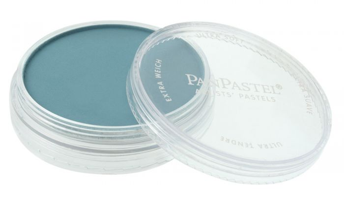 Turquoise Shade Side View Pans