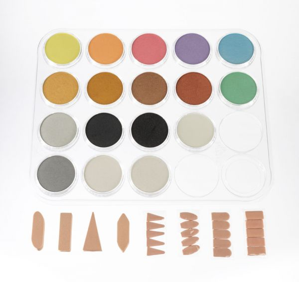 Complete Metallics, Pearlescents & Mediums - 17 Color Set