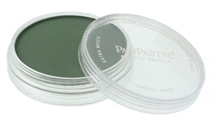 Permanent Green Extra Dark Side View Pans