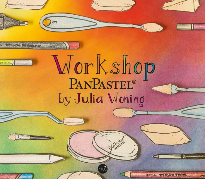Julia Woning - PanPastel Workshop Book Cover