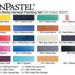 Joanne Barby General Painting Set (20 Colors)