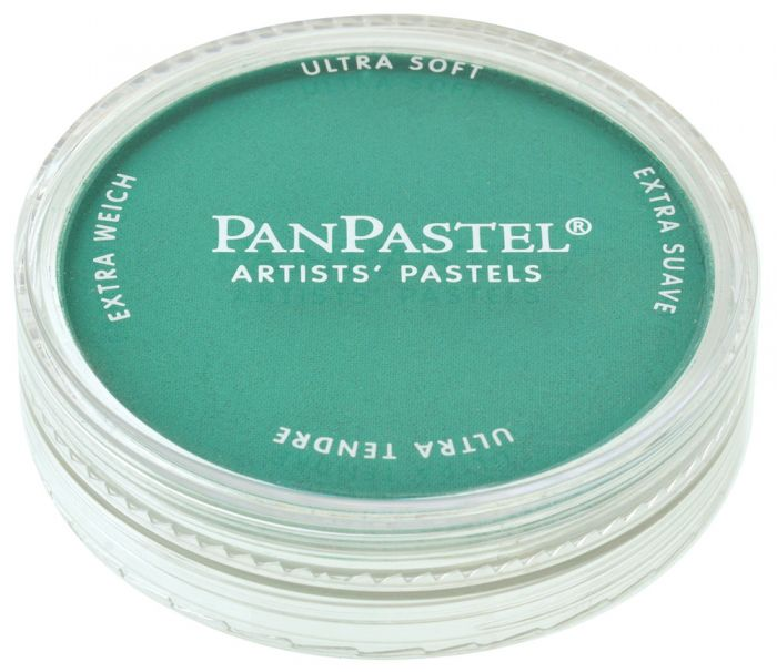 Phthalo Green Closed View Pans