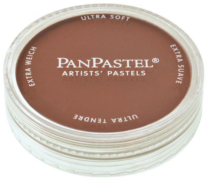 Burnt Sienna Shade Closed View Pans