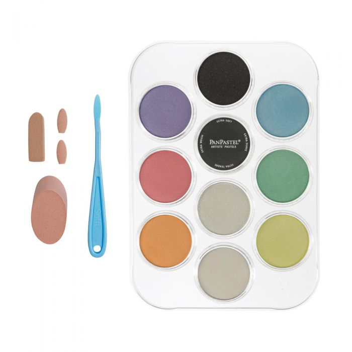 Pearlescent Colors & Mediums (10 Color Kit)